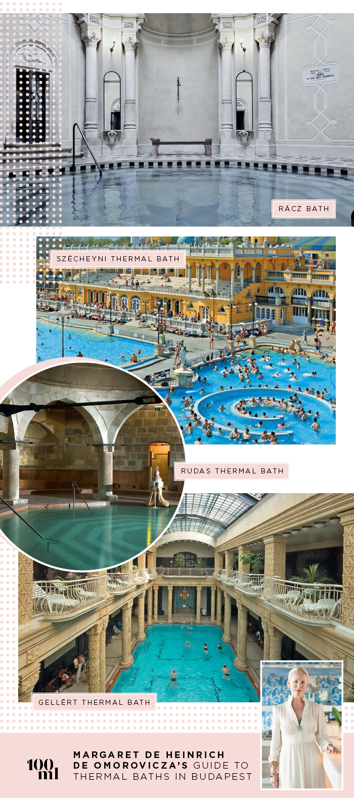 Omorovicza's Thermal Baths in Budapest