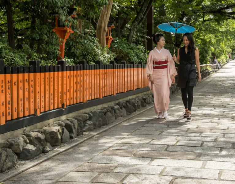 Tatcha founder Victoria Tsai in Kyoto, Japan